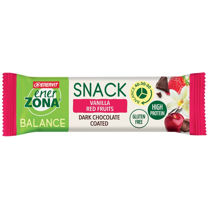 ENERZONA SNACK VANILLA RED FRUIT 33 G - Farmafamily.it