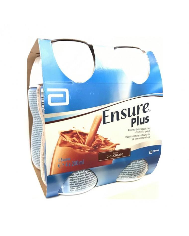 Ensure Plus Gusto Cioccolato 4 x 200ml - Arcafarma.it