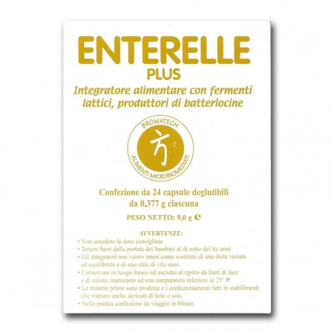 BROMATECH ENTERELLE PLUS 24 CAPSULE - Farmastar.it