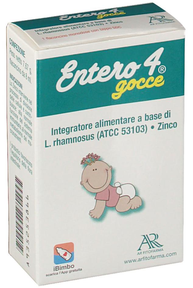 ENTERO 4 GOCCE 8 ML - Farmacia Centrale Dr. Monteleone Adriano