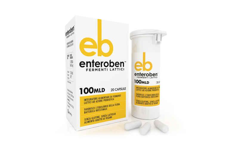 ENTEROBEN 100MLD 20 CAPSULE VEGETALI - Farmacianuova.eu