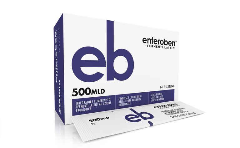 ENTEROBEN 500MLD 14 STICK PACK - Farmacianuova.eu