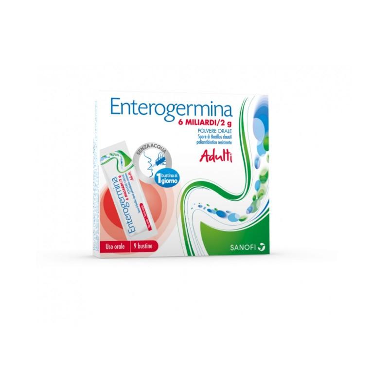 Enterogermina 6 Miliardi 2g Polvere Orale 9 Bustine - Sempredisponibile.it