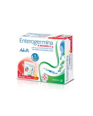 ENTEROGERMINA*OS 9BS 6MLD/2G - Farmastar.it