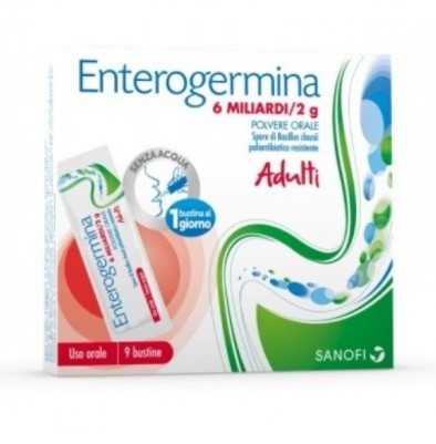 ENTEROGERMINA*OS 9BS 6MLD/2G - Farmacia 33