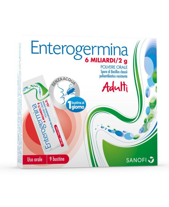 ENTEROGERMINA*OS 9BS 6MLD/2G - Farmaci.me