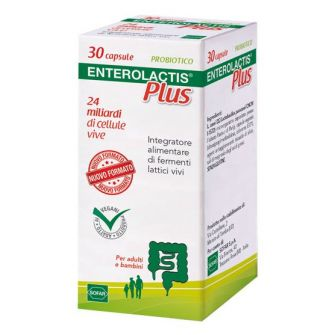 ENTEROLACTIS PLUS 30 CAPSULE - Farmapage.it