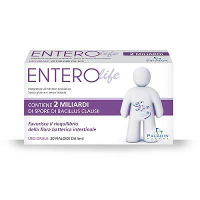 ENTEROLIFE 2 MILIARDI 20 FIALE DA 5 ML - Farmacia Bartoli