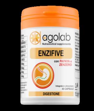 ENZIFIVE ENZIMI DIGESTIVI  CON PAPAYA E ZENZERO  - Farmacia 33
