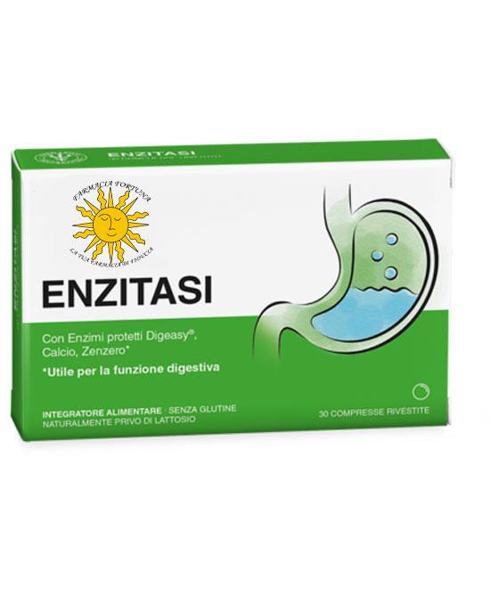 TuaFarmaOnline Enzitasi Integratore Regolare Motilità Intestinale 30 Compresse - latuafarmaciaonline.it