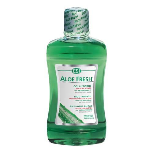 Esi Aloe Fresh Collutorio  Menta forte 500ml - Iltuobenessereonline.it
