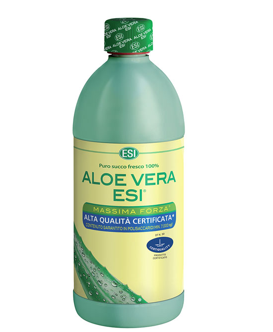Esi Aloe Vera Succo 1000 ml  1 Litro Massima Forza - latuafarmaciaonline.it