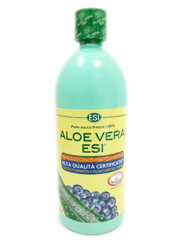 ESI ALOE VERA SUCCO MIRTILLO 1000 ML - Farmafamily.it