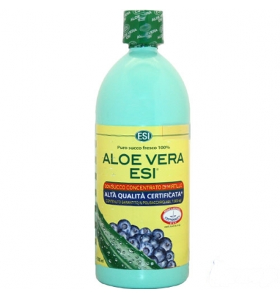 ESI Aloe Vera Succo Con Mirtillo 1000ml - Farmaconvenienza.it