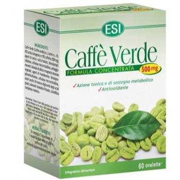 Esi caffè verde 60 ovalette 550 mg - Iltuobenessereonline.it
