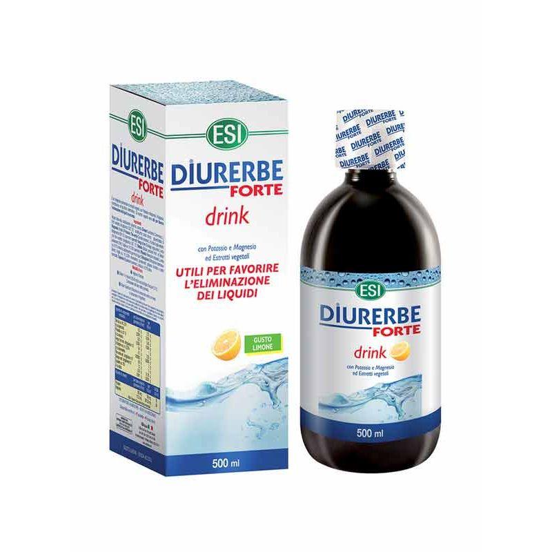 ESI DIURERBE FORTE DRINK LIMONE 500 ML - Farmacia Castel del Monte