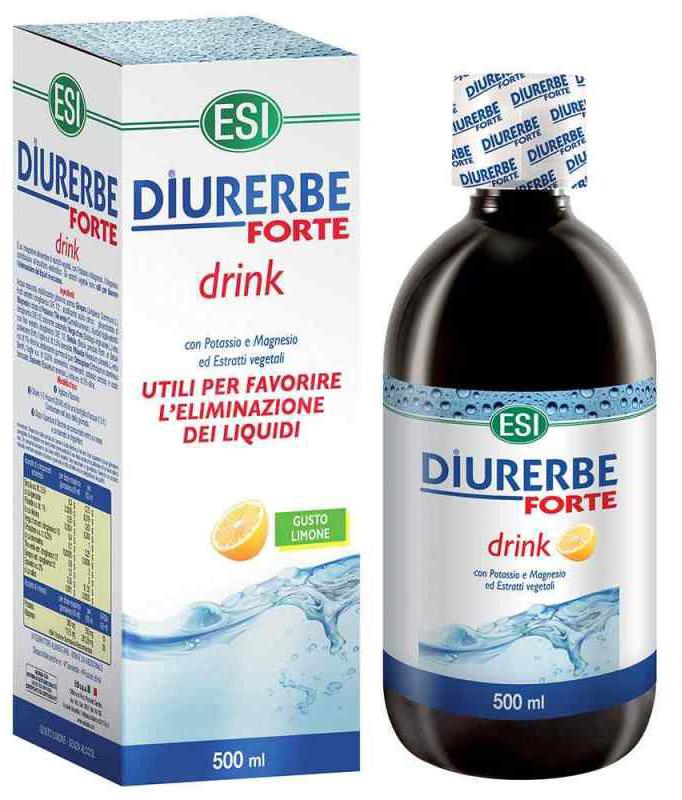 ESI DIURERBE FORTE DRINK LIMONE 500 ML - Farmacia Centrale Dr. Monteleone Adriano