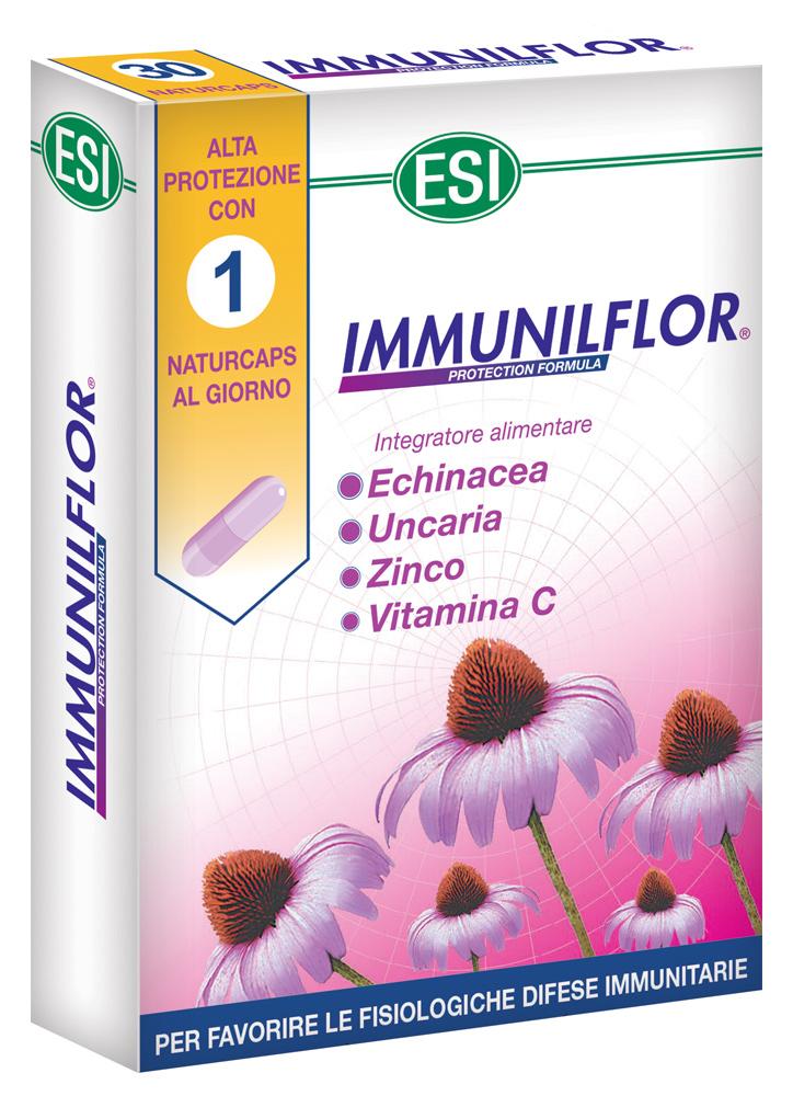 ESI IMMUNILFLOR 30 CAPSULE - Farmacia Centrale Dr. Monteleone Adriano