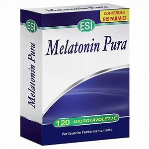 Esi Melatonin Pura 120 microtavolette - Iltuobenessereonline.it