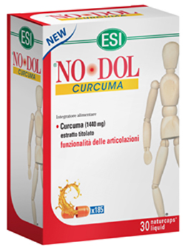 Esi No Dol CURCUMA 30 NATURCAPS  - Iltuobenessereonline.it