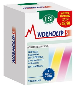 ESI NORMOLIP 5 90NATURCAPS TP - Farmaciacarpediem.it