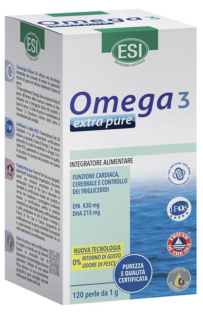 ESI OMEGA 3 EXTRA PURE 120 PERLE - Farmacia Centrale Dr. Monteleone Adriano