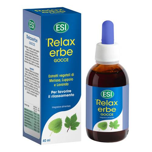 Esi Relaxerbe Gocce 40ml - Farmaconvenienza.it