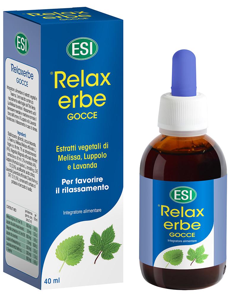 ESI RELAXERBE GOCCE 40 ML - Farmacia Centrale Dr. Monteleone Adriano