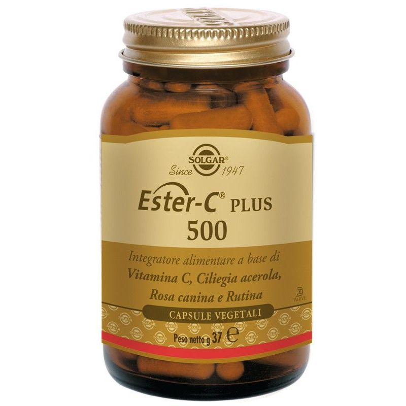 ESTER C PLUS 500 100 CAPSULE VEGETALI - Farmafamily.it
