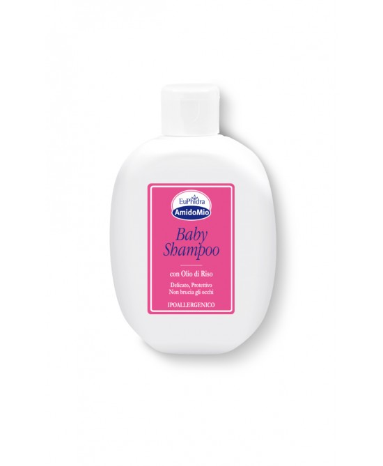 EuPhidra AmidoMio Baby Shampoo Con Olio Di Riso 200ml - Iltuobenessereonline.it