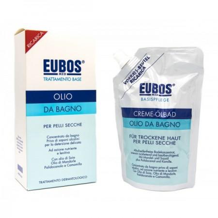 EUBOS OLIO BAGNO RICARICA 400 ML - latuafarmaciaonline.it