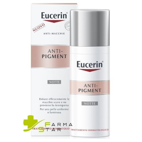 EUCERIN ANTI-PIGMENT NOTTE CREMA 50 ML - Farmastar.it