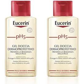 EUCERIN BIPACCO PH5 GEL DOCCIA DETERGENTE PELLE SENSIBILE 400 ML - Farmastar.it