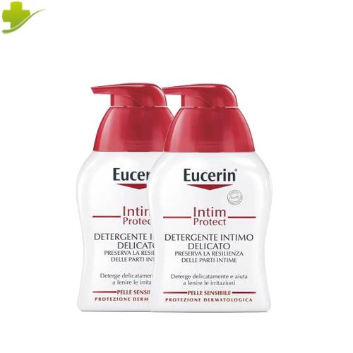 EUCERIN INTIM PROTECT DETERGENTE INTIMO DELICATO 2 X 250 ML PROMO - Farmastar.it