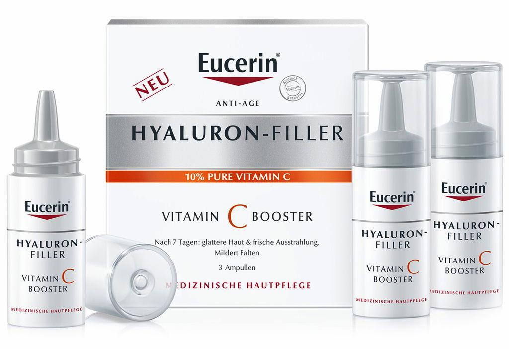 EUCERIN HYALURON-FILLER VITAMIN C BOOSTER 3 X 8 ML - Farmacia Centrale Dr. Monteleone Adriano