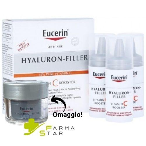 Hyaluronic Filler Vitamina C Booster Viso 3 X 8 ml Eucerin - Farmastar.it