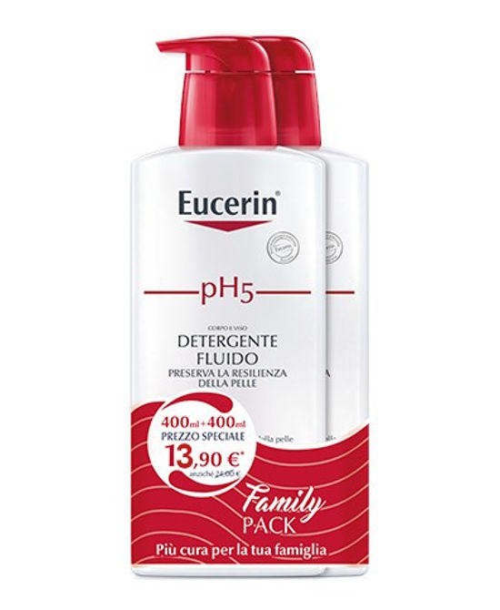 EUCERIN PH5 DETERGENTE 2 X 400 ML 19 - Farmaci.me