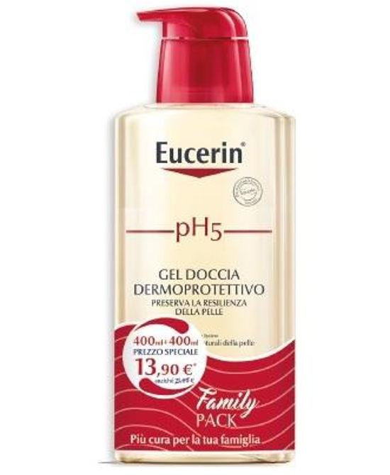 EUCERIN PH5 GEL DETERGENTE 2X400 ML