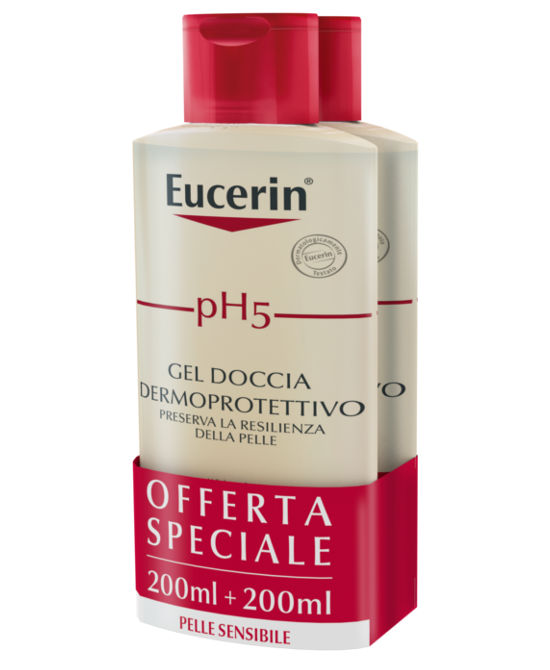 EUCERIN PH5 GEL DOCCIA 2 X 200 ML 19 - Farmaci.me