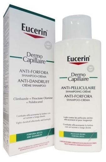 EUCERIN SHAMPOO/CREMA ANTI FORFORA SECCA 250 ML - Farmacia Centrale Dr. Monteleone Adriano