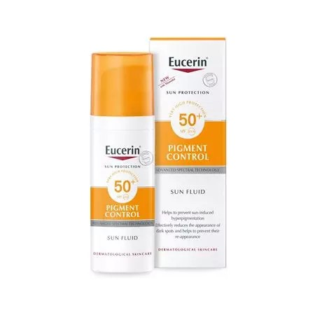 EUCERIN SUN FLUIDO ANTIPIGMENT SPF 50+ 50 ML - Farmaciapacini.it