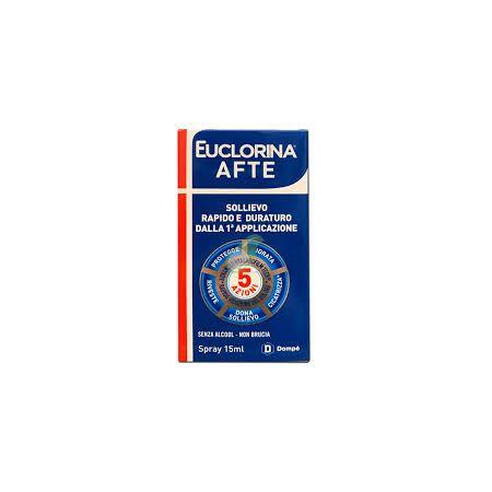 EUCLORINA AFTE SPRAY 15 ML - farmaventura.it