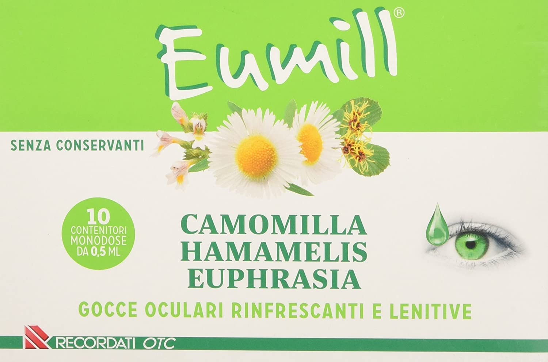 EUMILL GOCCE OCULARI 10 FLACONCINI MONODOSE 0,5 ML - Farmagolden.it
