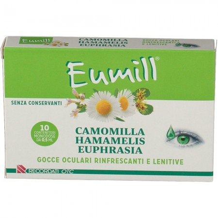 Eumill Gocce Oculari 10 Flaconi Monodose - Farmafamily.it