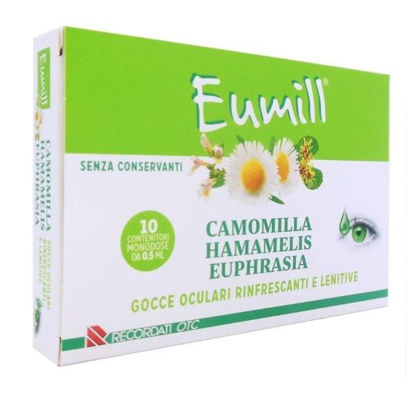 EUMILL GOCCE OCULARI 10 FLACONCINI MONODOSE 0,5 ML - Zfarmacia