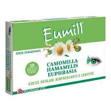 EUMILL GOCCE OCULARI 10 FLACONCINI MONODOSE 0,5 ML - FarmaHub.it