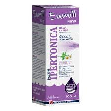EUMILL NASO SPRAY SOLUZIONE IPERTONICA 100 ML - Farmajoy