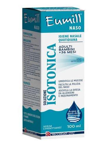 EUMILL NASO SPRAY SOLUZIONE ISOTONICA 100 ML - Farmacia33