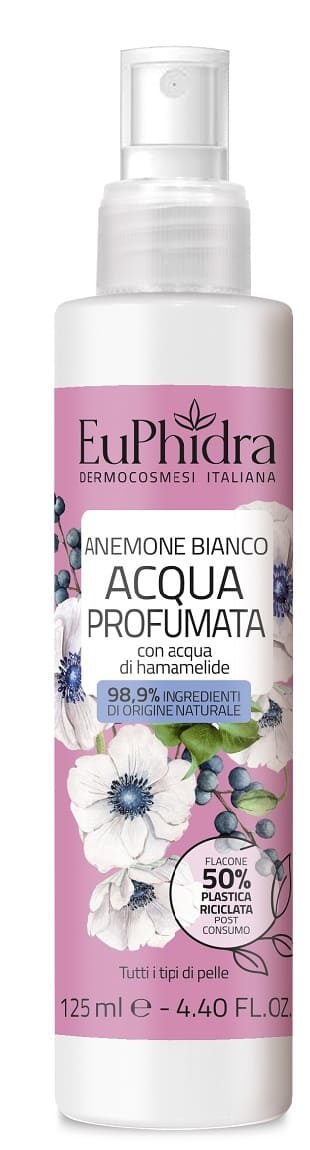 EUPHIDRA ACQUA PROFUMATA ANEMONE BIANCO125 ML - farmasorriso.com
