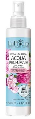 EUPHIDRA ACQUA PROFUMATA PETALI DI ROSA 125 ML - farmasorriso.com